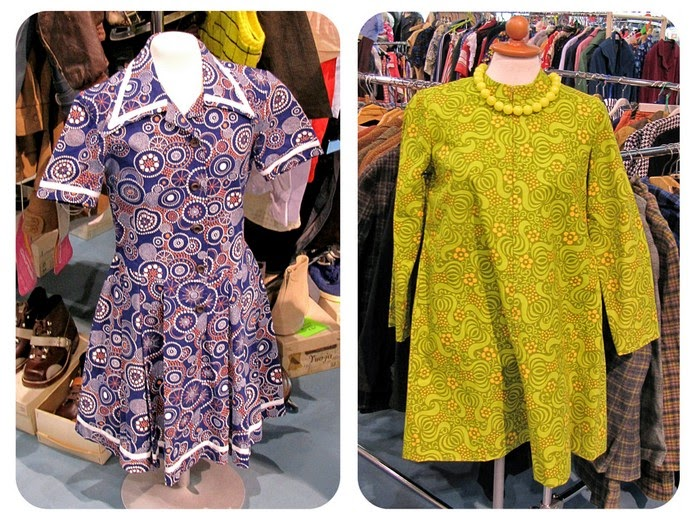 dress 1960 psykedeelinen kuosi paisley