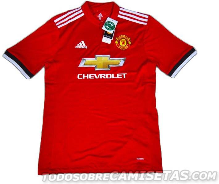 adidas | adidas Manchester United Home Shirt 2017 2018 Mens ...