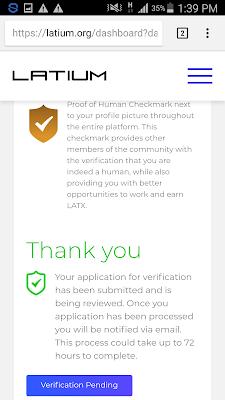 cara verifikasi cepat di situs latium