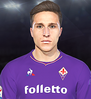 PES 2018 Faces Federico Chiesa by Prince Hamiz