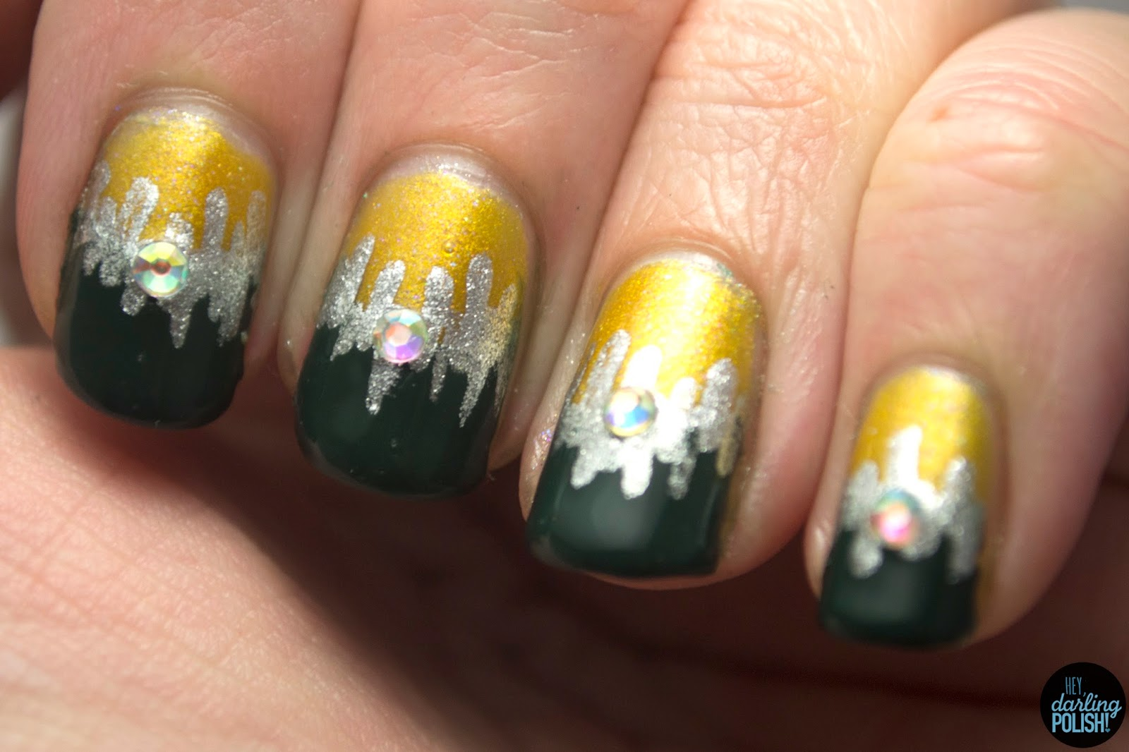 Tri-Polish Challenge: Festiveness Gone Wrong • Polish Those Nails