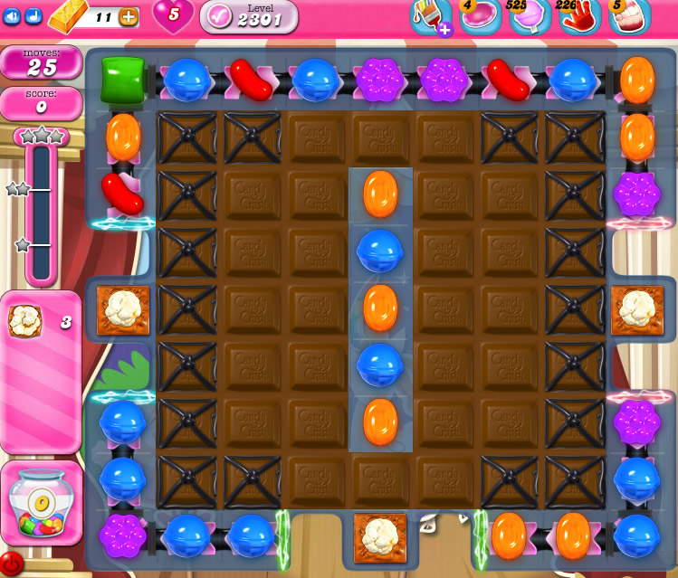 Candy Crush Saga level 2301