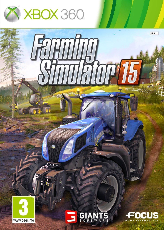 Farming Simulator 15 ESPAÑOL XBOX 360 Cover Caratula