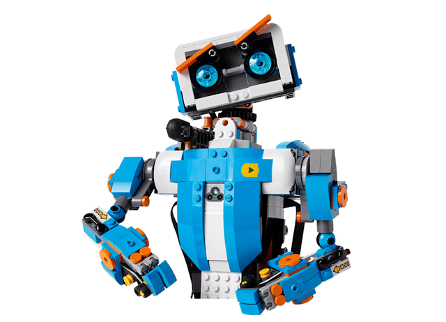 Lego Boost robot works on Ios and android