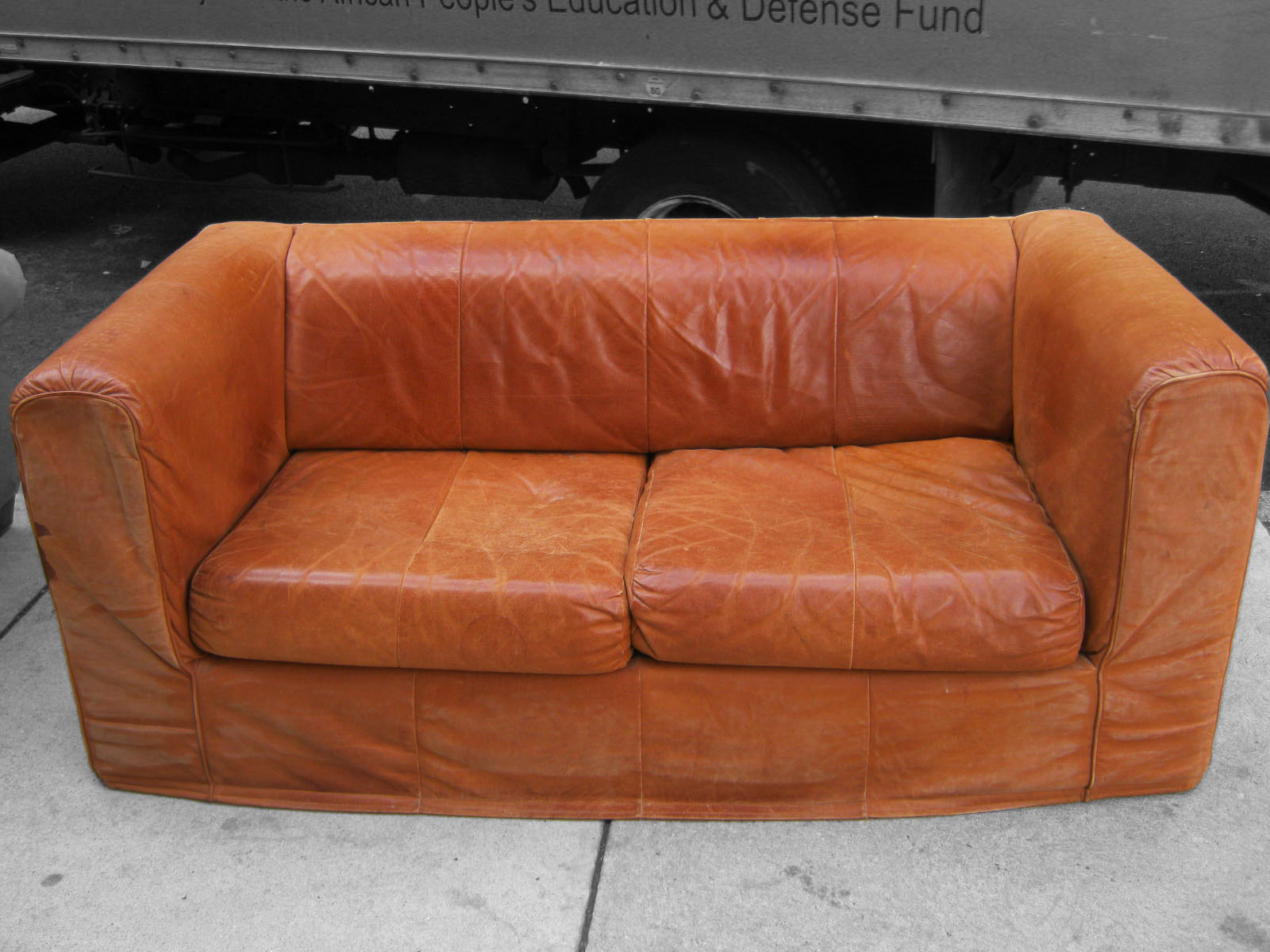 Astonishing Uhuru Furniture Collectibles Camel Colored Leather Sofa Creativecarmelina Interior Chair Design Creativecarmelinacom