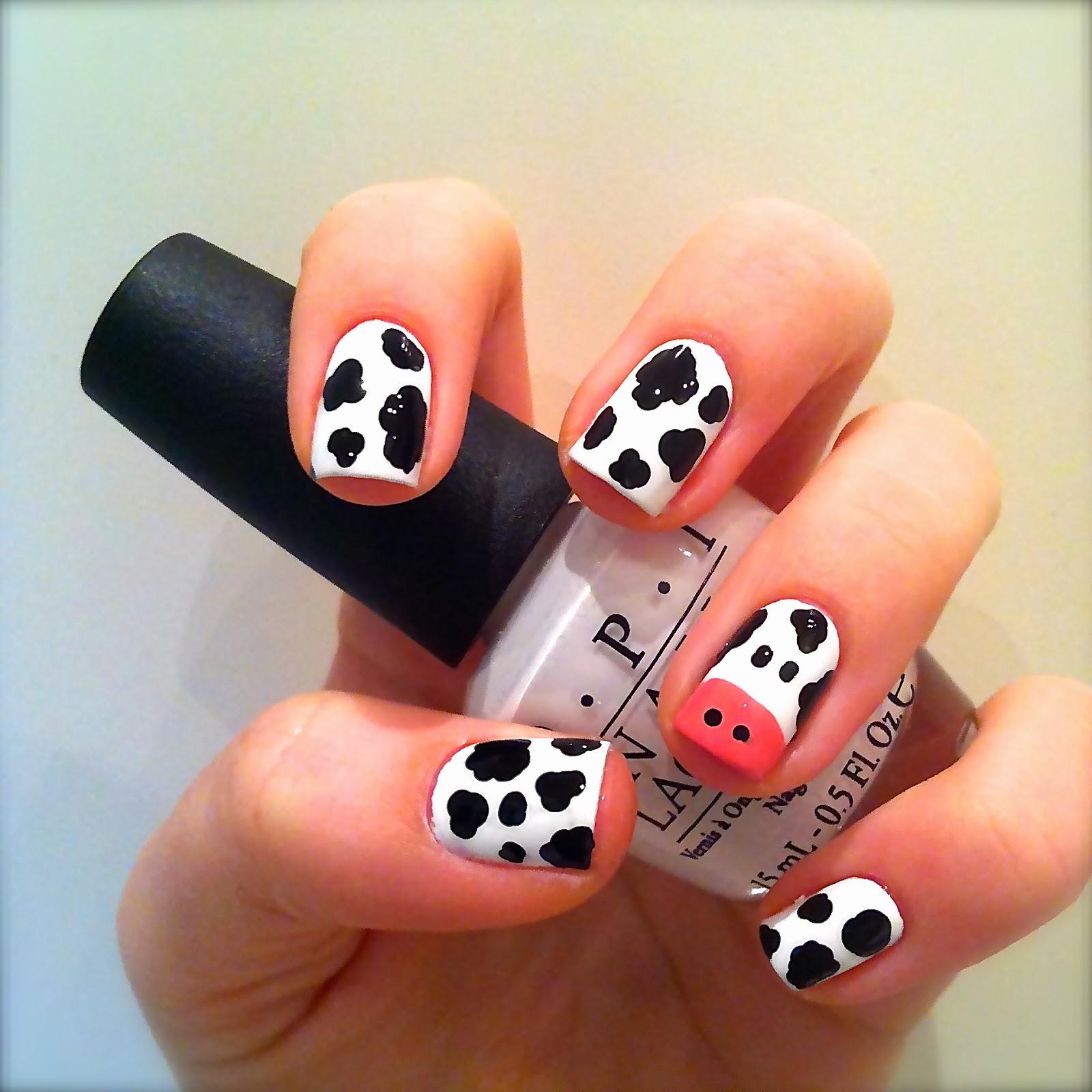 12 Cute Animal Nail Art Designs - Pretty Designs