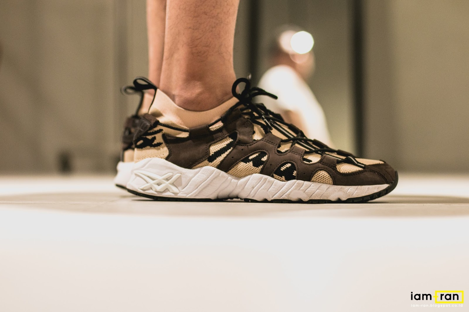 934d7fb4f IAM-RAN  ON FEET   Derry - Asics Gel Mai knit X Patta