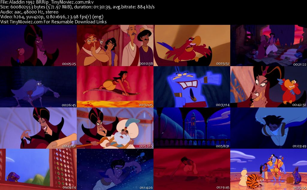 Aladdin Disney Screencaps
