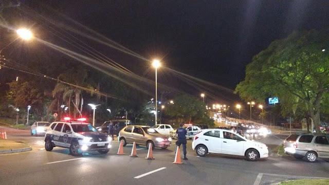 Blitz da PRF e Guarda Municipal flagra 38 motoristas embriagados em Florianópolis (SC)