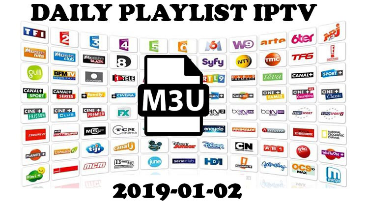 Daily Hits M3u Links (playlist updated) 2019-01-02