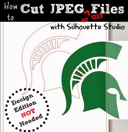 JPEG, cut, Silhouette Studio, free, Silhouette tutorial