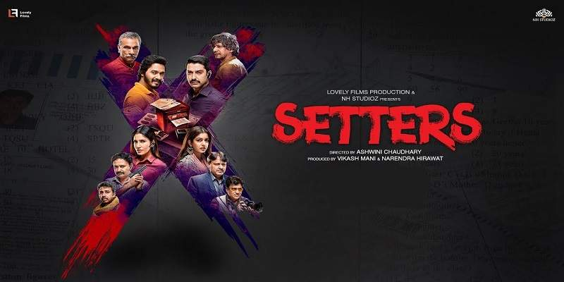 Setters Hindi Movie Screen Count Advance Booking Report Poster