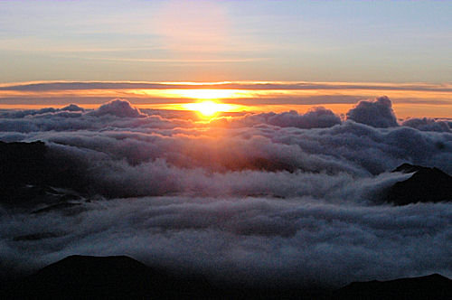 Pemandangan Matahari Terbit  Gambar Pemandangan