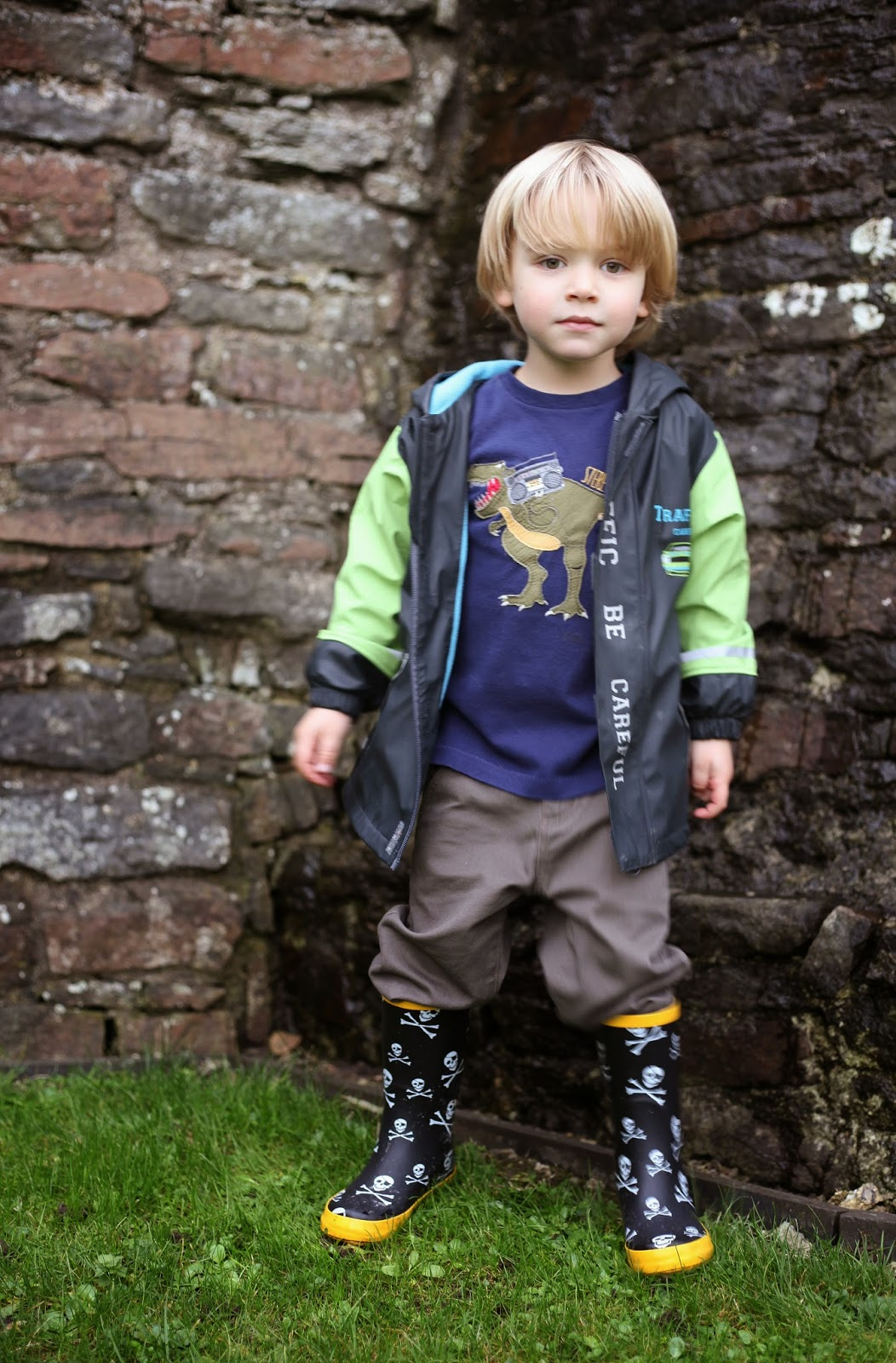 Clarks Pirate wellies