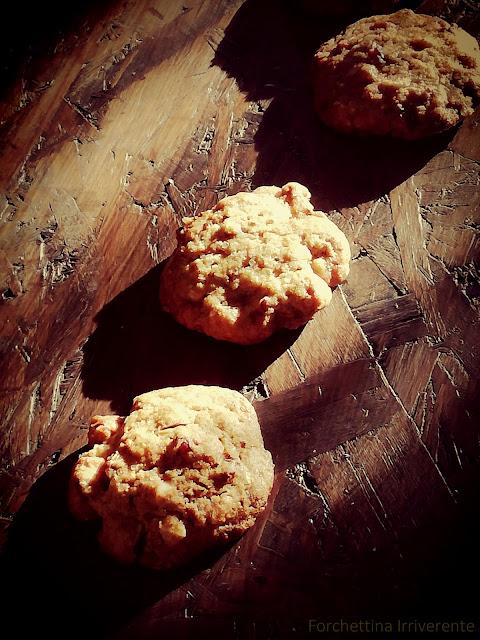 Cookies speziati alla frutta secca