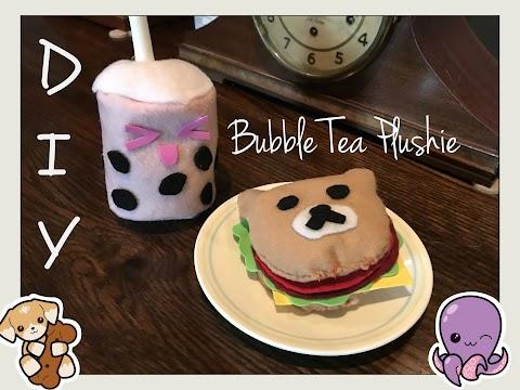 DIY Boba Tea Plushie