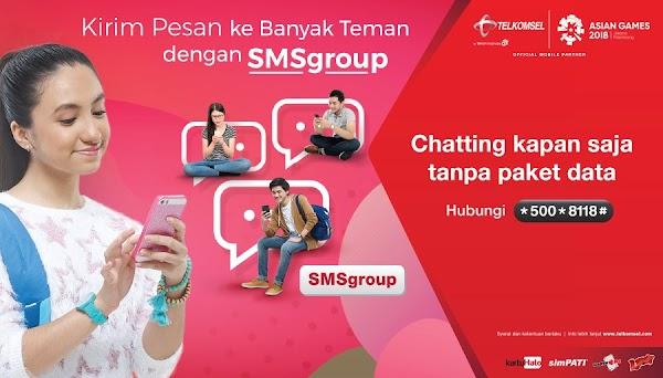 Cara Daftar SMS Group Telkomsel Terbaru 2019