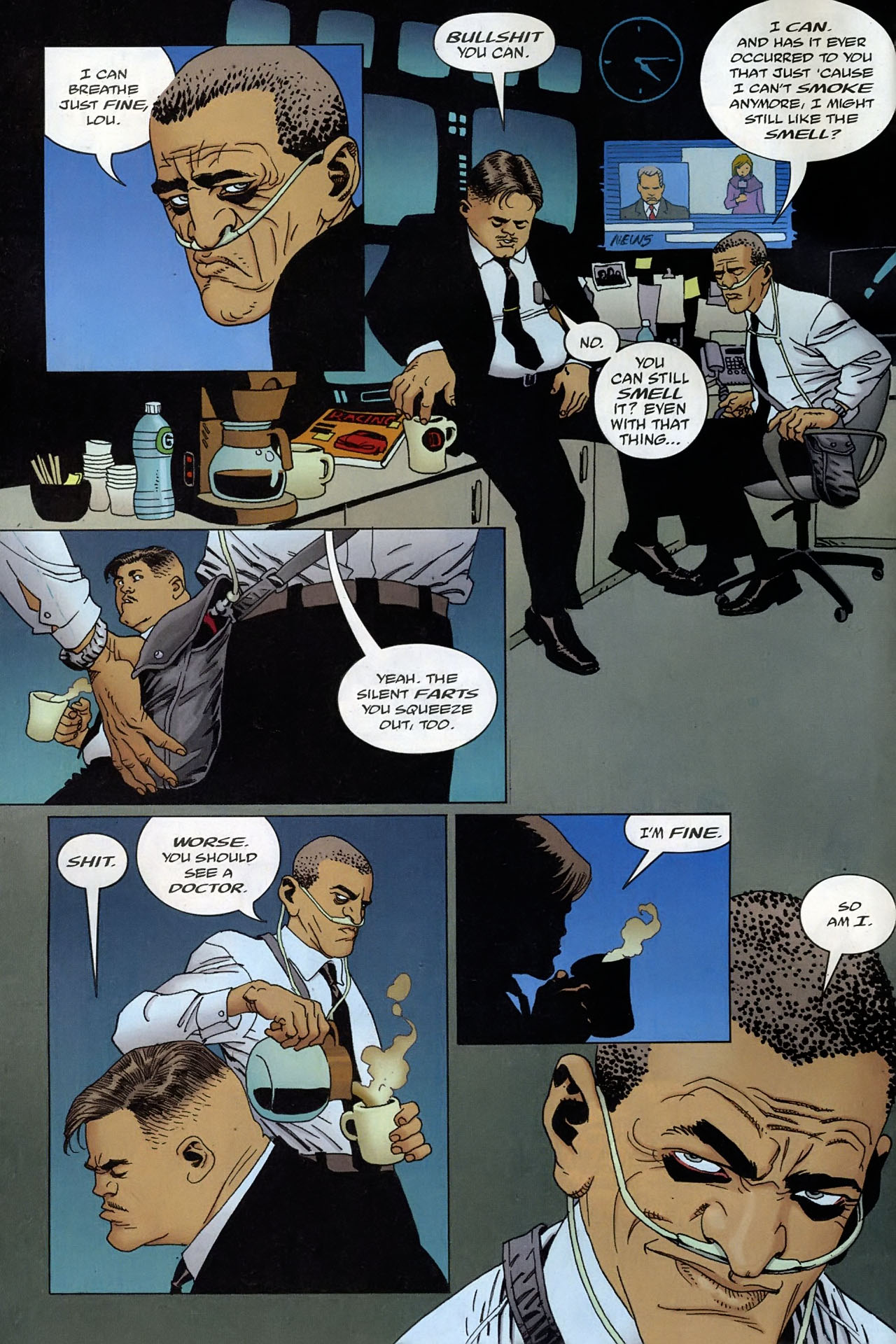 Read online 100 Bullets comic -  Issue #93 - 3