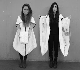 Wearable Tyvek Coat