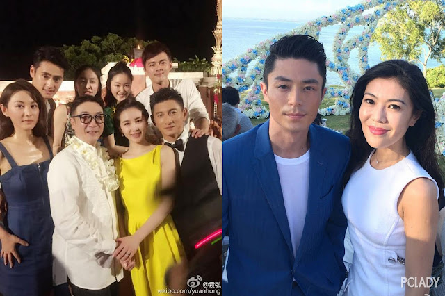 Nicky Wu and Liu Shi Shi's wedding ceremony Mar 2016