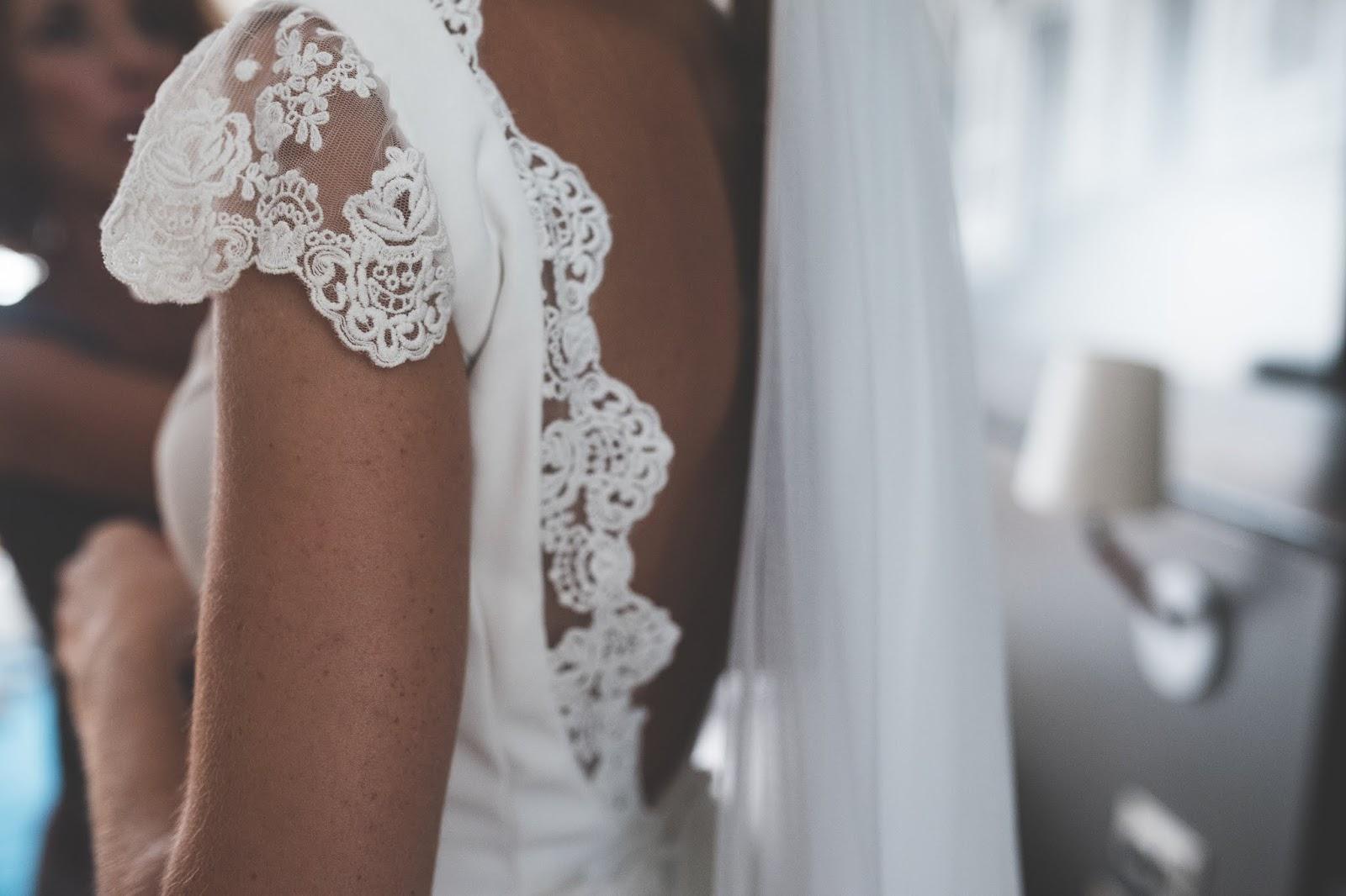 vestido novia tul bordado