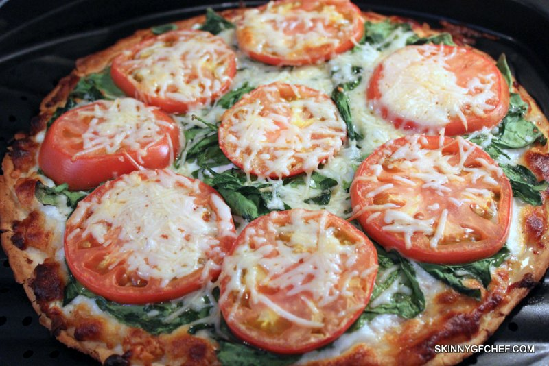 Gluten Free BLT Pizza with Yogurt Pizza Sauce