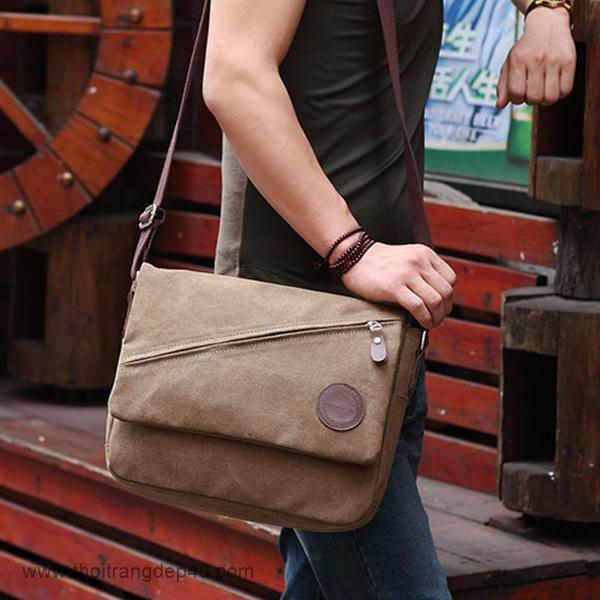 Túi đeo chéo da nam thời trang VF266