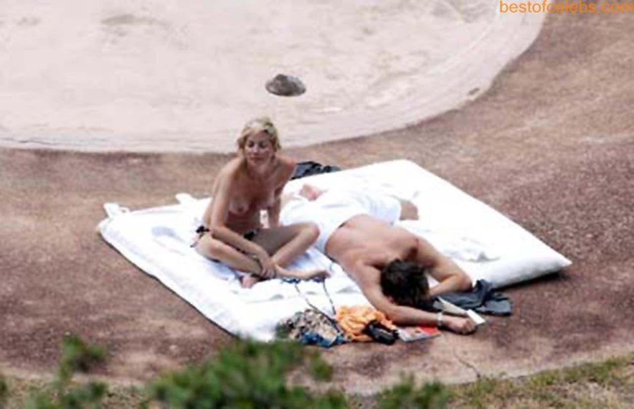 Something is. Sharon stone naked at beach seems remarkable