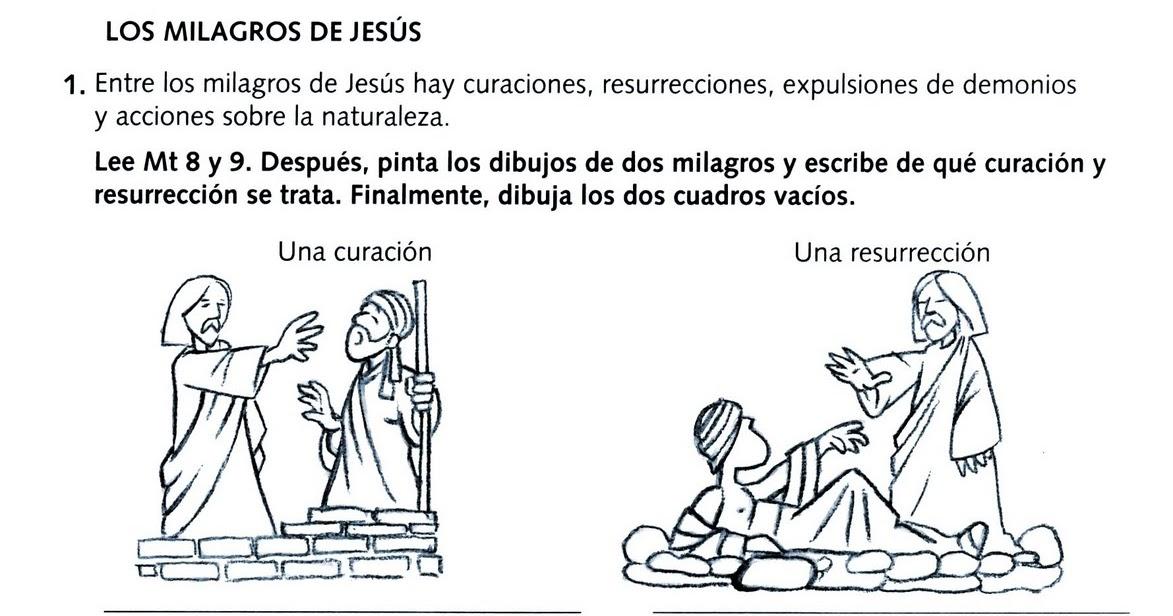Erlijioko Irakaslea Los Milagros De Jesus