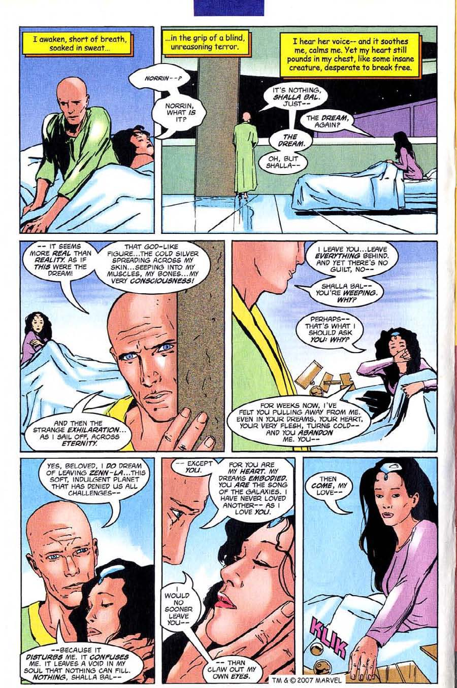 Read online Silver Surfer (1987) comic -  Issue #140 - 8