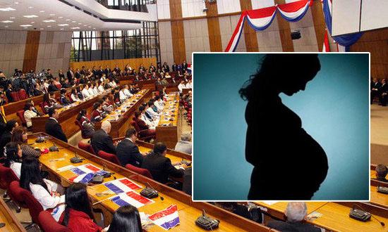 Congreso de Paraguay rechaza aborto