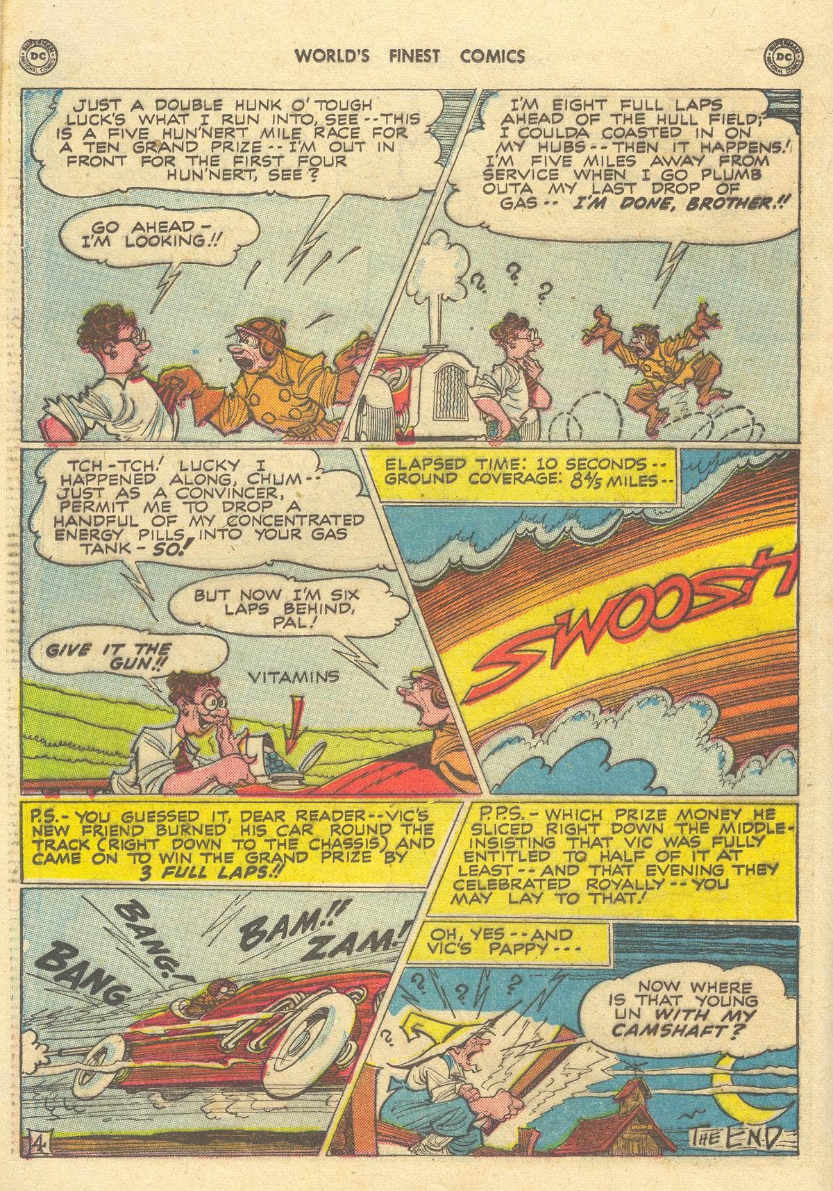 Read online World's Finest Comics comic -  Issue #51 - 40