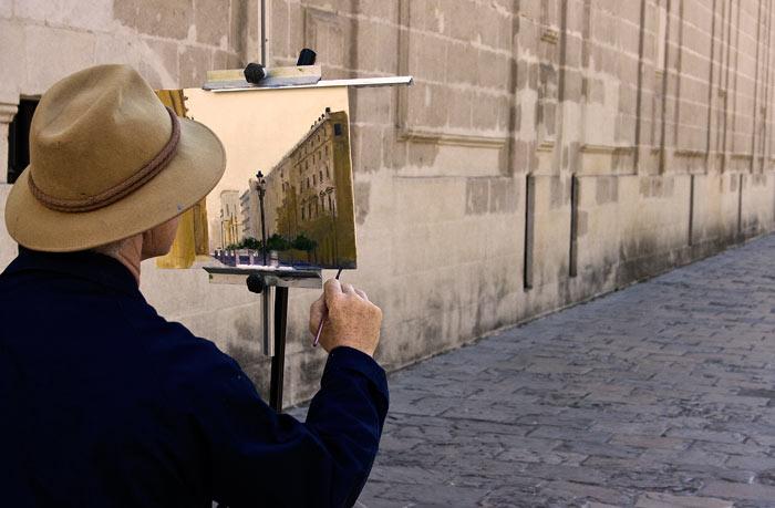 El arte callejero en su misma esencia