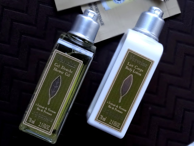 L'Occitane Almond and Verbena Collection