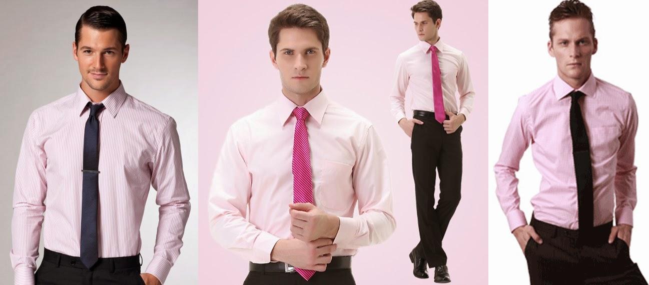 THE SHIRTS BAR: 粉紅色襯衫該搭什麼褲子?