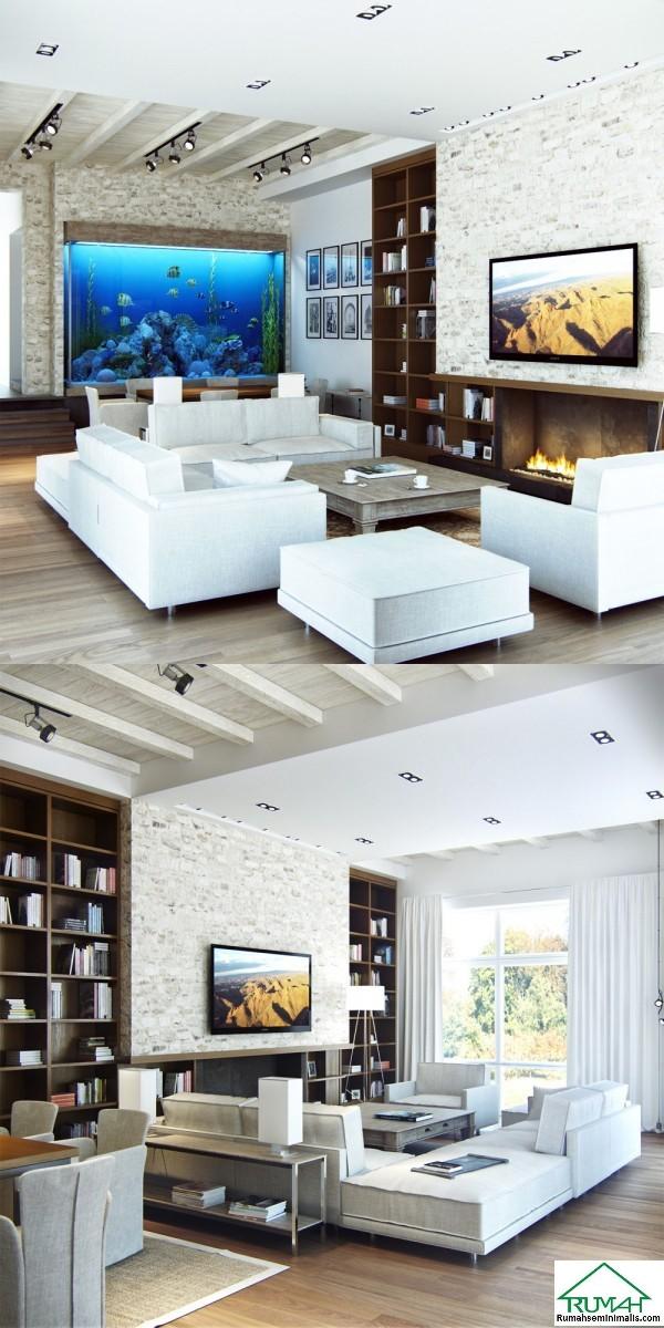 minimalis glamor yang Anda tempati tidak hanya mementingkan desain eksterior rumah yang un 25 Kumpulan Denah Model Desain Gambar Ruang Tamu Minimalis Modern