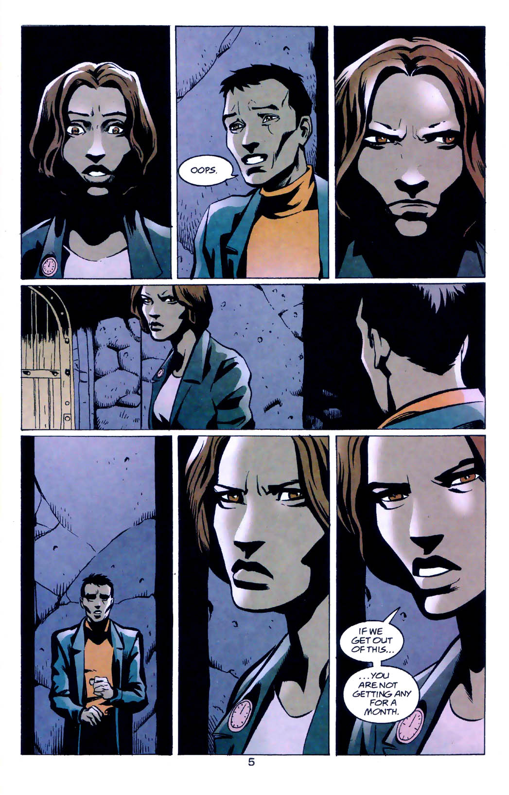 Read online Midnight, Mass comic -  Issue #5 - 6