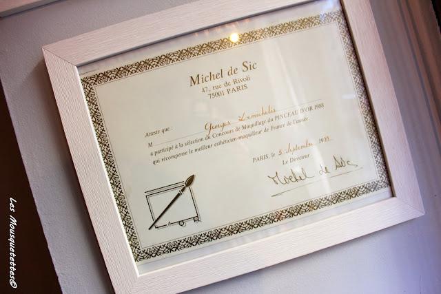Un des diplômes obtenu par Georges Demichelis - Les Mousquetettes©