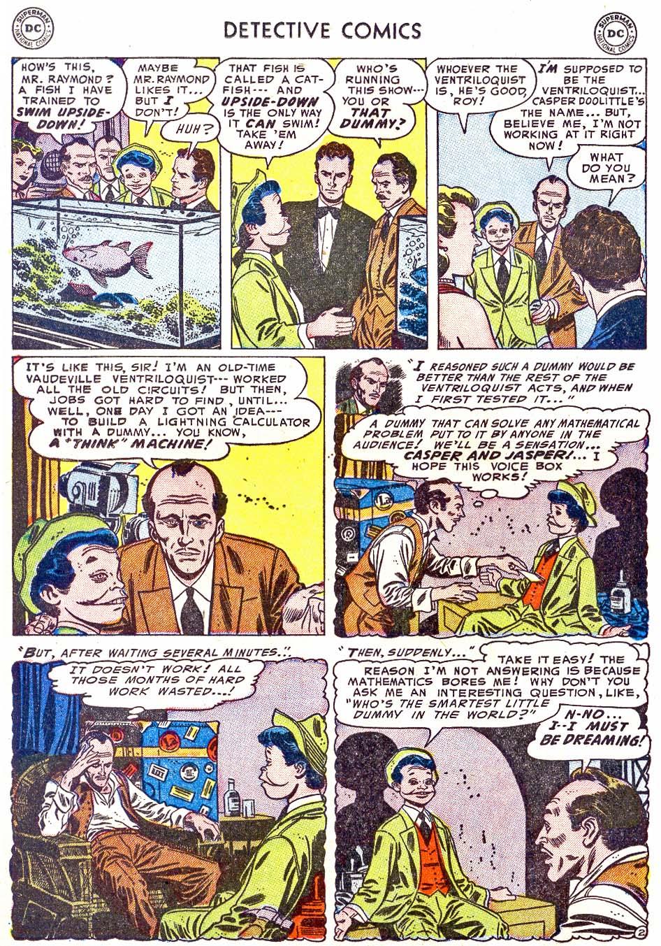 Detective Comics (1937) 202 Page 17
