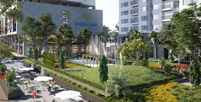 Không gian chung cư Rivera Park Hà Nội