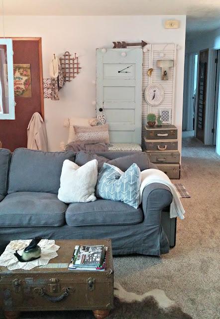 Living Room Refresh Little Vintage Cottage