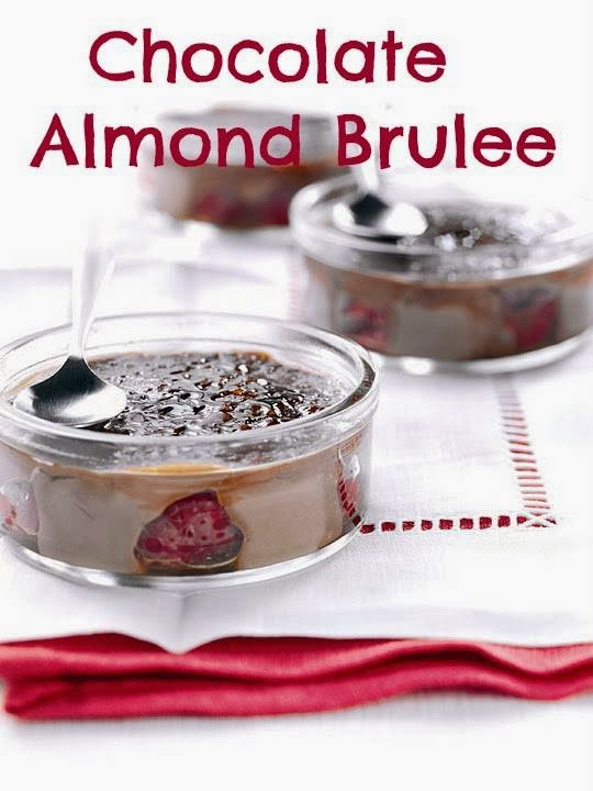 Chocolate Almond Brulee: Made With Dairy Free Milk