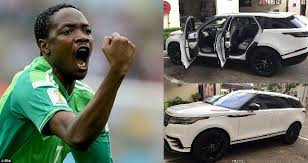 See photo of Super Eagles Striker, Ahmed Musa who acquired an expensive range rover velar