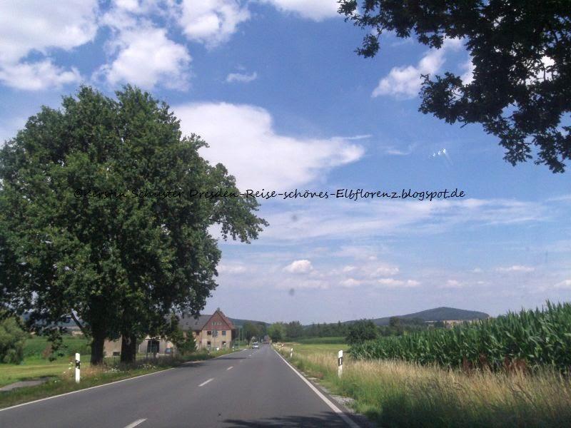 Landschaft am Rande der Westlausitz