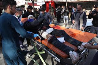 مقتل ما لا يقل عن 95 قتيلا و 158 جريحا بعد هجوم طالبان فى وسط كابول الأفغانية