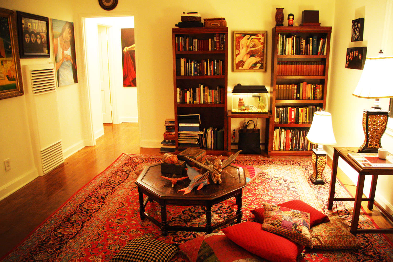 Gambar Ruang Tamu Lesehan Minimalis