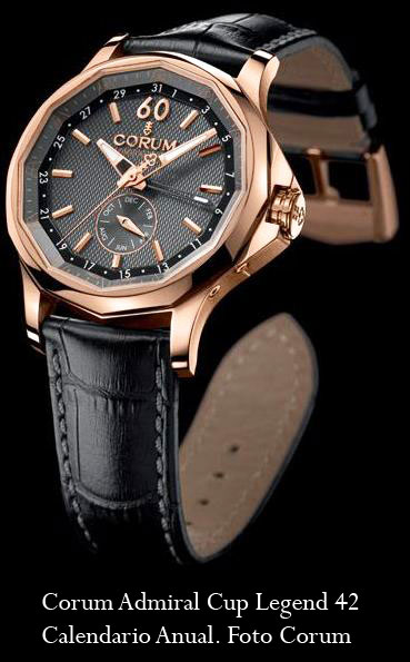 Corum Admiral Cup Legend 42 Calendario Anual