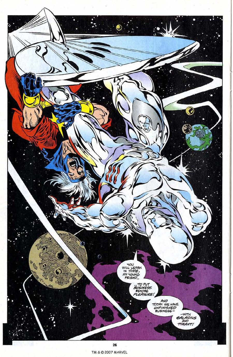 Silver Surfer (1987) Issue #108 #116 - English 28