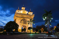 Du lịch Lào: Thăm tượng đài chiến thắng Patuxay, khải hoàn môn của người Lào