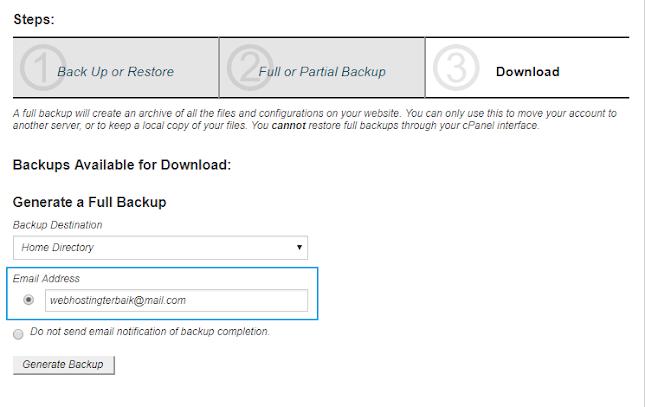 proses backup data